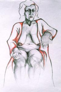 Етюд 3 - етюд с молив от Любомира Попова Fineluart