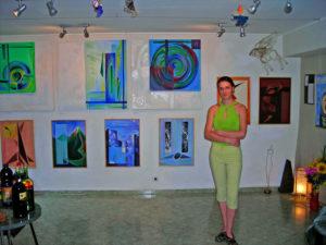 Пластове от монолит – изложба живопис