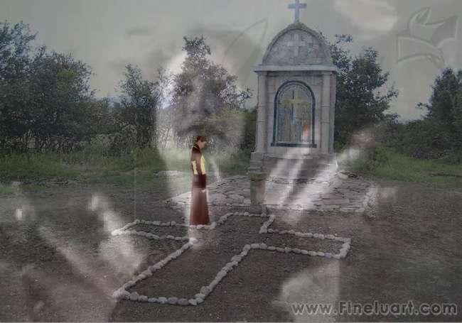 Разкаяние – мултимедиен видео клип от Любомира Попова Fineluart