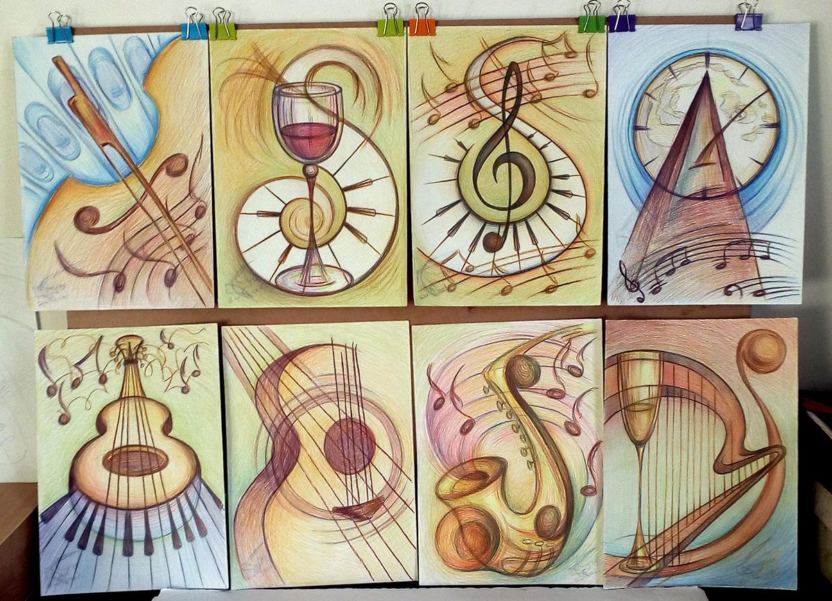 Passion for music - принтове на картини