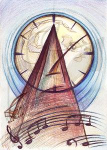 Passion for music: Sonata - принт на картина